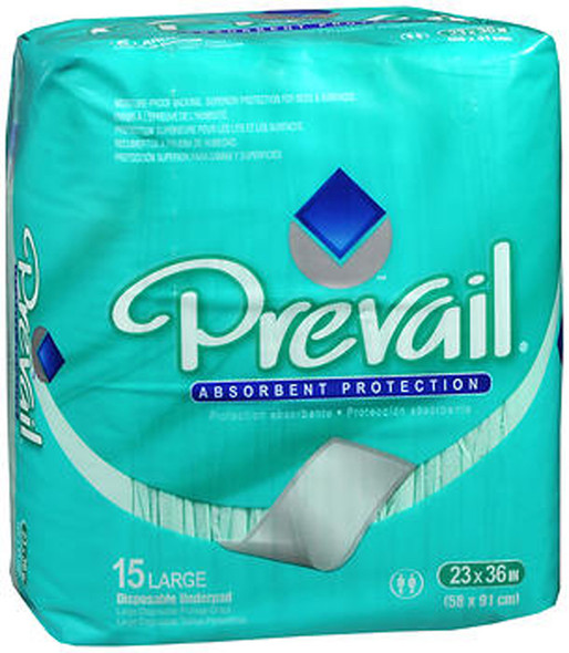 Prevail Dri-Bed Underpads 23 Inches x 36 - 10 pks of 15