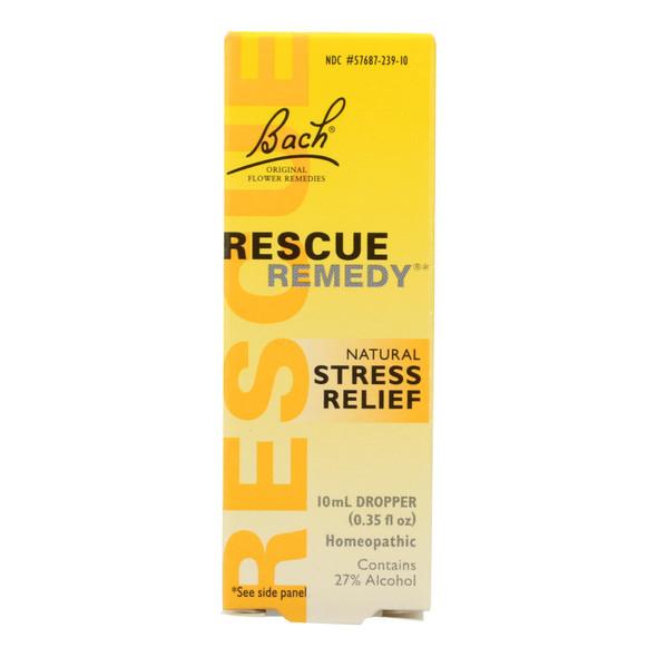 Bach Flower Remedies Rescue Remedy Stress Relief Tincure - 0.35 Fl Oz