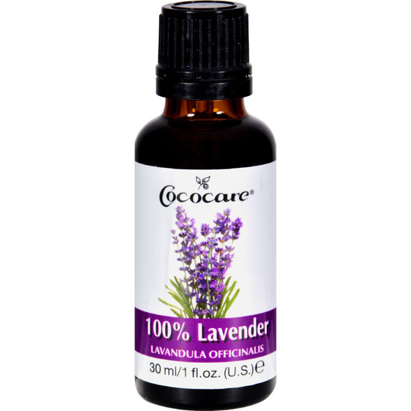 Cococare Lavender Oil - 100 Percent Natural - 1 Fl Oz
