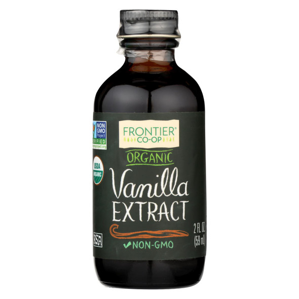 Frontier Herb Vanilla Extract - Organic - 2 Oz