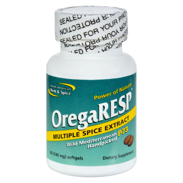 North American Herb And Spice Oregaresp - 60 Softgels