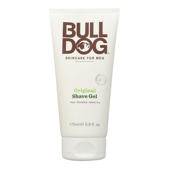 Bulldog Natural Skincare Shave Gel - Original - 5.9 Fl Oz