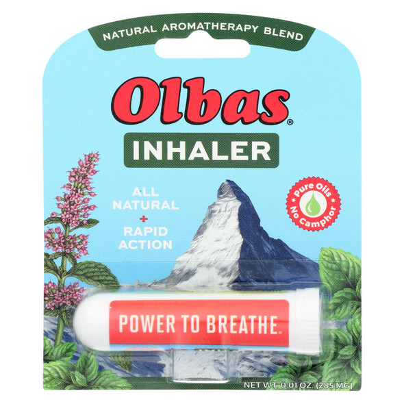 Olbas Therapeutic Aromatherapy Inhaler - .01 Oz Pack of 12