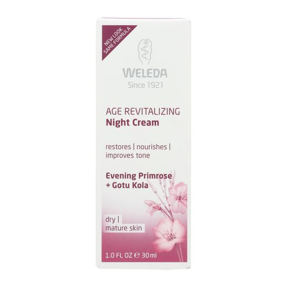 Weleda Night Cream - Age Revitalizing - Evening Primrose - 1 Oz