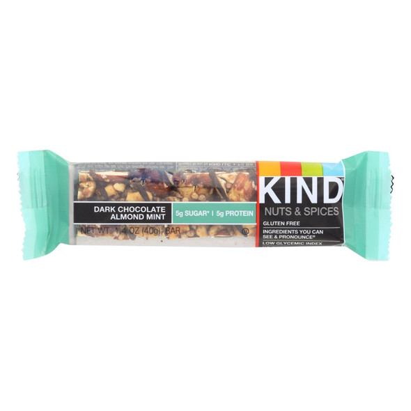 Kind Nuts And Spice Bar - Case Of 12 - 1.4 Oz.