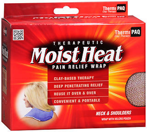 Heat Pain Relief Wrap ThermiPaq - Neck & Shoulders