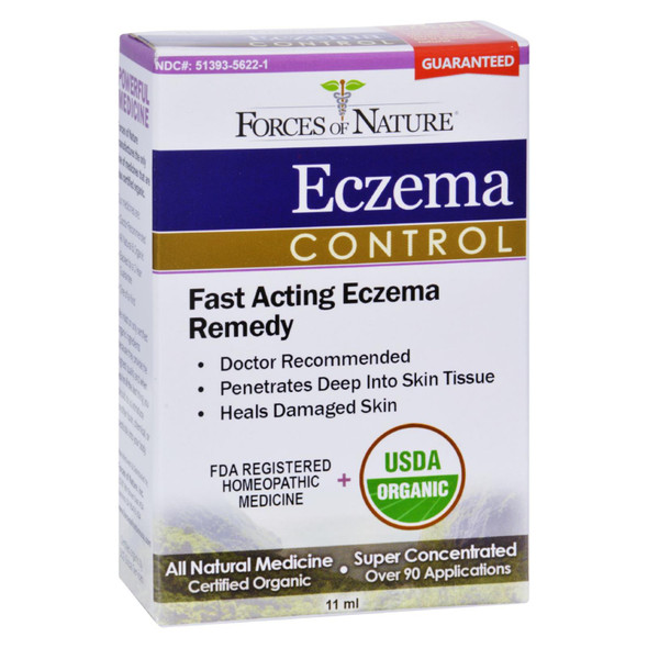 Forces Of Nature Organic Eczema Control - 11 Ml