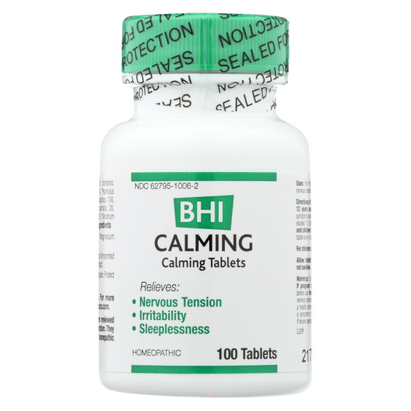 Bhi Calming - 100 Tablets