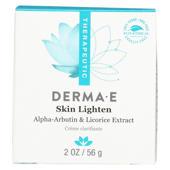 Derma E Skin Lighten Creme - 2 Oz