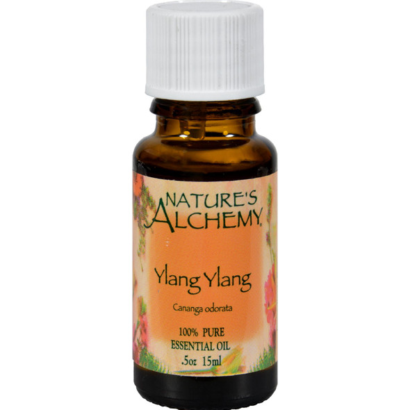 Nature's Alchemy 100% Pure Essential Oil Ylang Ylang - 0.5 Fl Oz