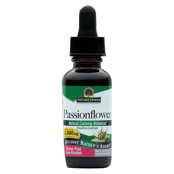 Nature's Answer Passionflower Herb - 1 Fl Oz