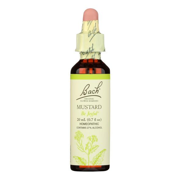 Bach Flower Remedies Essence Mustard - 0.7 Fl Oz