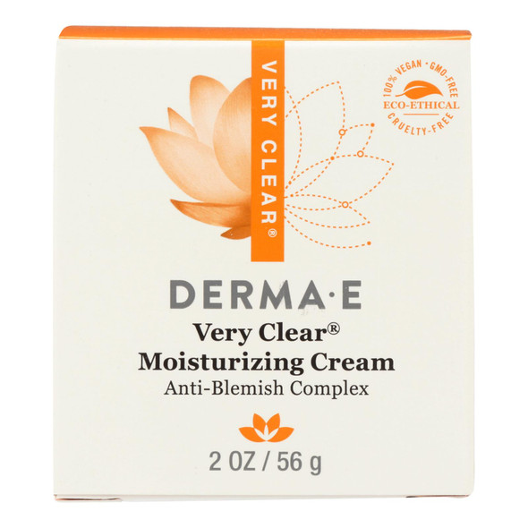 Derma E Very Clear Problem Skin Moisturizer - 2 Fl Oz