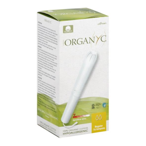 Organyc Cotton Tampons - Regular Apple - 16 Pack