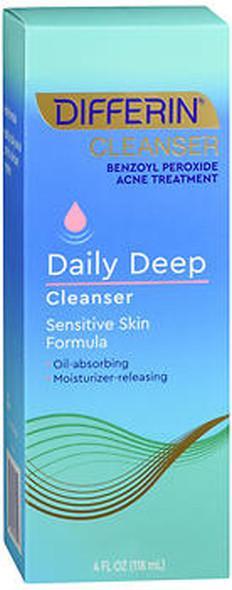 Differin Daily Deep Cleanser Sensitive Skin Formula - 4 oz