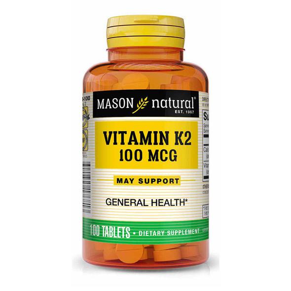 Mason Natural K2 100 mcg -100 Tablets