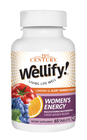 21st Century Wellify Women's Energy - 65 ct