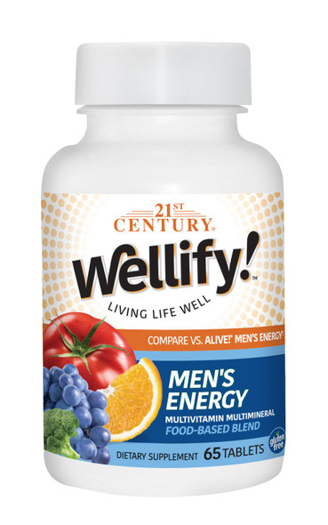 21st Century Wellify Men's Energy - 65 ct