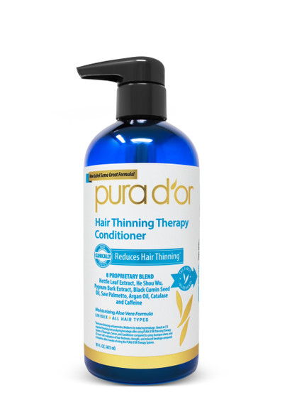 Pura d'Or Hair Loss Prevention Therapy Conditioner - 16 oz