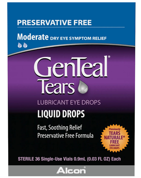 GenTeal Tears Lubricant Liquid Eye Drops - 36 ct
