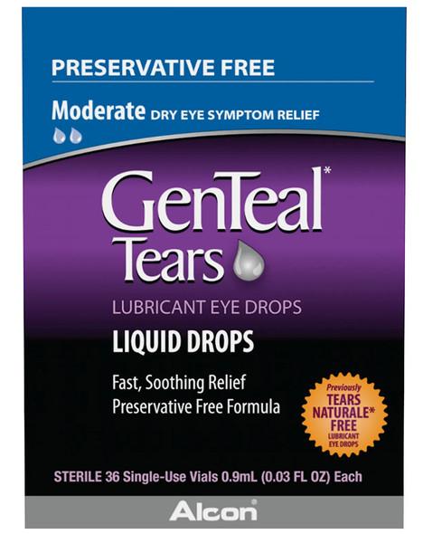 GenTeal Tears Lubricant Liquid Eye Drops - 36 ct