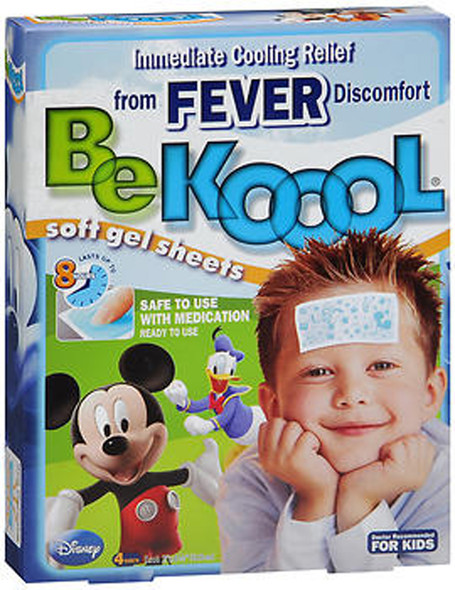 Be Koool Soft Gel Sheets, Disney - 4 ea.