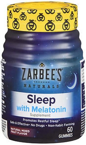 Zarbee's Naturals Sleep with Melatonin Supplement - 60 Gummies