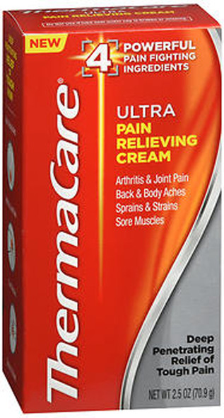 ThermaCare Ultra Pain Relieving Cream - 2.5 oz