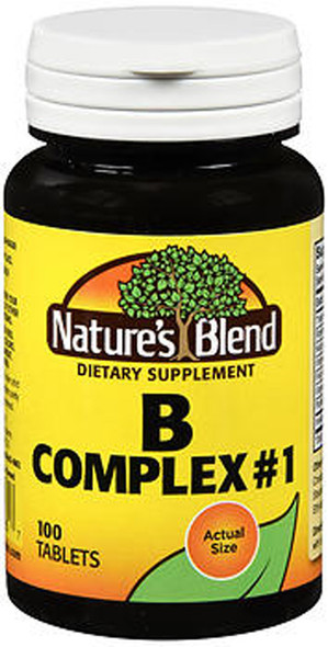 Nature's Blend B Complex #1 Tablets - 100 ct