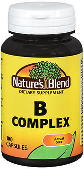 Nature's Blend B Complex Capsules - 100 ct