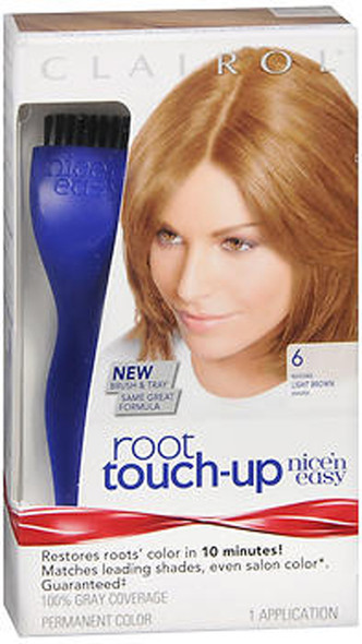 Clairol Nice 'n Easy Root Touch-Up 6 Light Brown