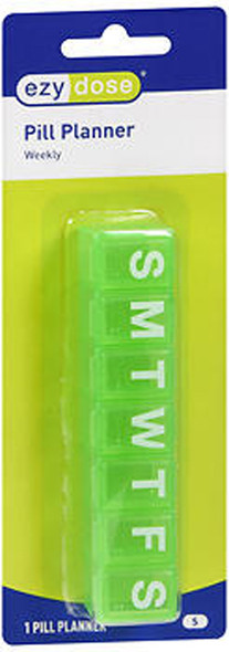 Ezy Dose 7 Day, Pill Reminder Case, Small - #67004