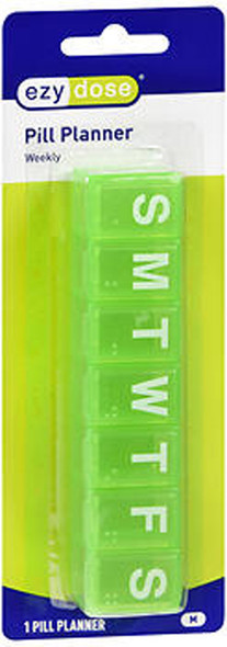 Ezy Dose 7-Day Classic Medium Pill Reminder  - 1 ea. - #67005