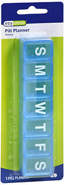 Ezy Dose 7 Day Pill Reminder Box - 1 ea. #67006