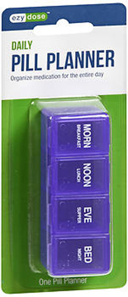 Ezy Dose Four-a-Day Classic Pill Reminder 67016  - 1 ea.