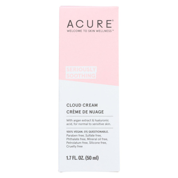 The Acure Cream - Soothing - Cloud - 1.7 Fl Oz from The Online Drugstore
