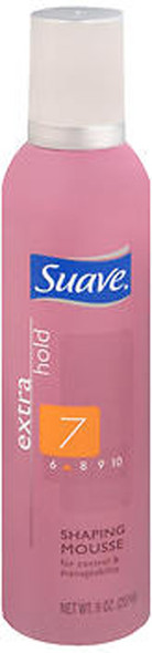 Suave Extra Hold Shaping Mousse - 9 oz