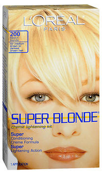 L'Oreal Super Blonde Lightening Kit Bleach Blonde