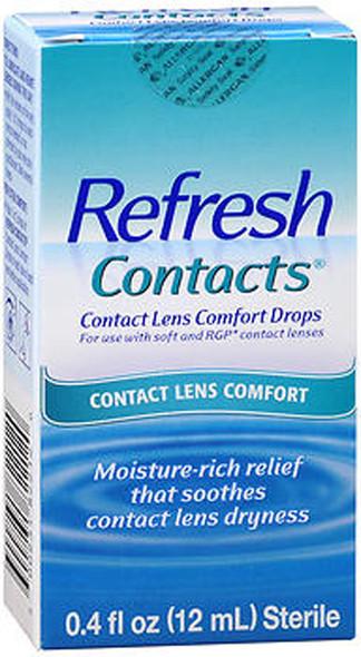 Refresh Contacts Contact Lens Comfort Moisture Drops - 0.4 oz