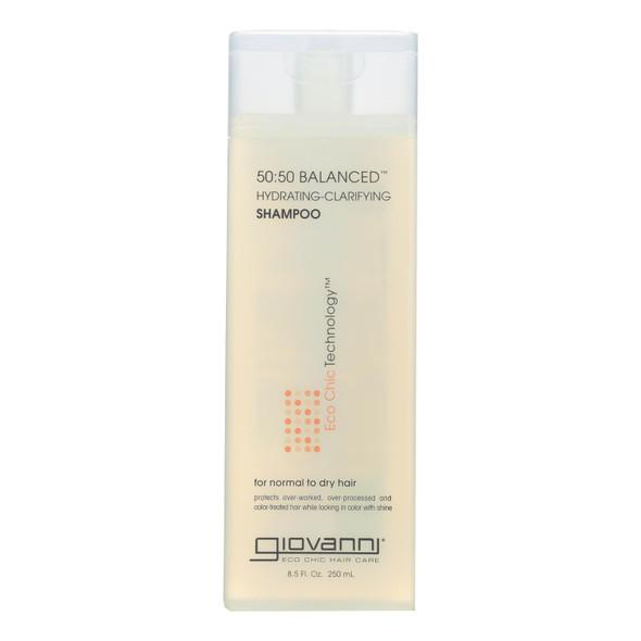 Giovanni 50:50 Balanced Shampoo - 8.5 Fl Oz