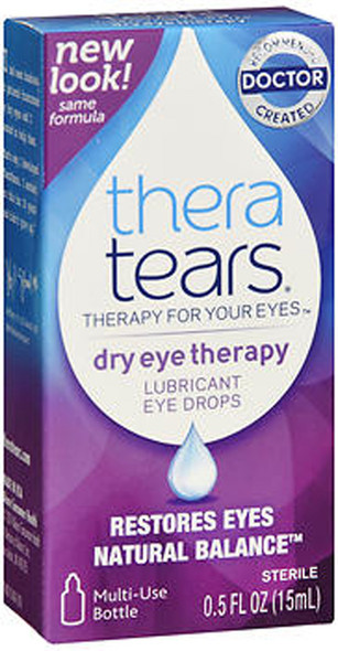 TheraTears Dry Eye Therapy Lubricant Eye Drops - 0.5 oz