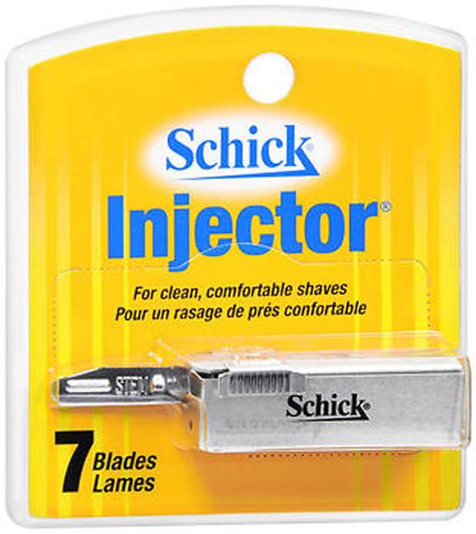 Schick Injector Blades - 7 ct