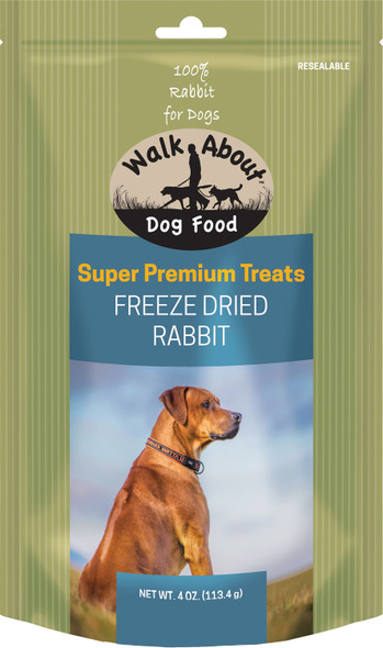 Walkabout Pet Treats - Rabbit Recipe 4 Oz