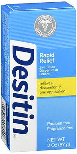 Desitin Rapid Relief Diaper Rash Cream - 2 oz