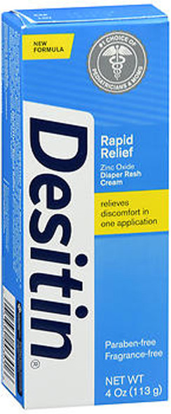Desitin Rapid Relief Diaper Rash Cream - 4 oz