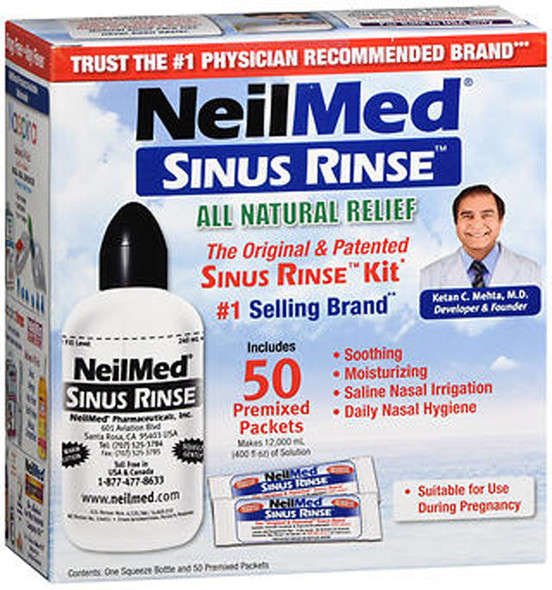 NeilMed Sinus Rinse Regular Kit, 1 each