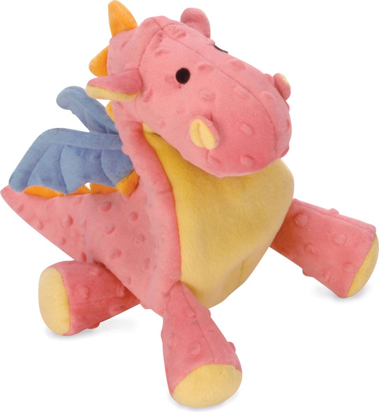 Dragons Dog Toy - Coral Large