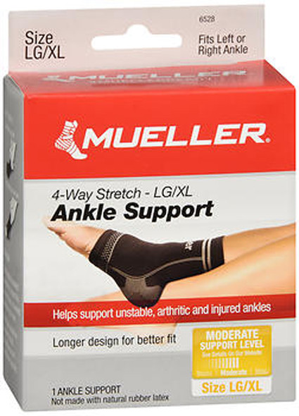 Mueller Sport Care 4-Way Stretch Ankle Support Large/X-Large - 1 ea
