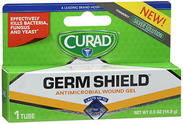 Curad Germ Shield Antimicrobial Wound Gel - .5 oz