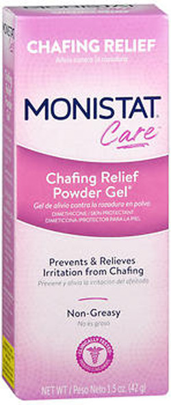 Monistat Care Chafing Relief Powder Gel - 1.5 oz